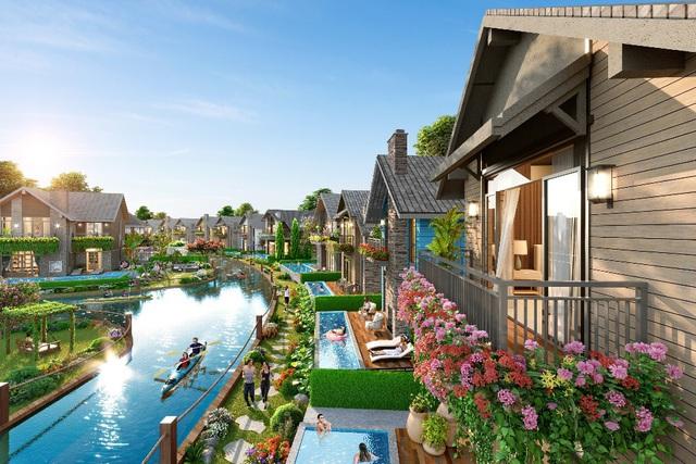 Khám phá làng biệt thự Lagoon đẹp như cổ tích tại The Tropicana - NovaWorld Ho Tram - Ảnh 3.