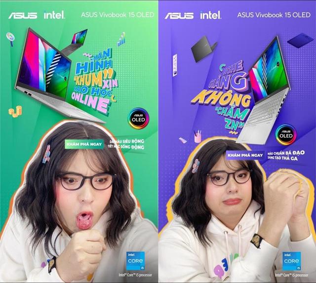 """Tựu trường """"Khum"""" bình thường cùng laptop ASUS Vivobook 15 OLED - Ảnh 4."""