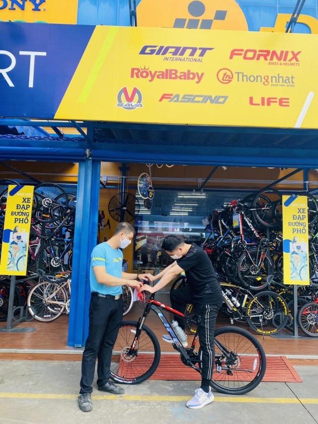 Thế Giới Di Động tăng tốc mở shop xe đạp, kỳ vọng doanh thu 400 tỷ - Ảnh 1.