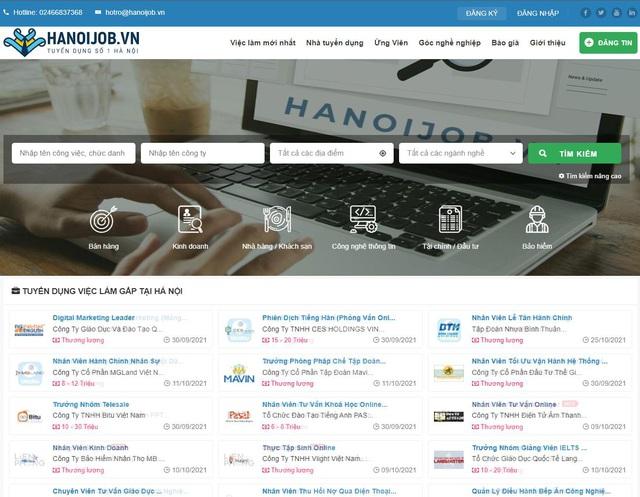 Bí quyết tìm việc ở làm Hà Nội trong mùa dịch với Hanoijob.vn - Ảnh 2.