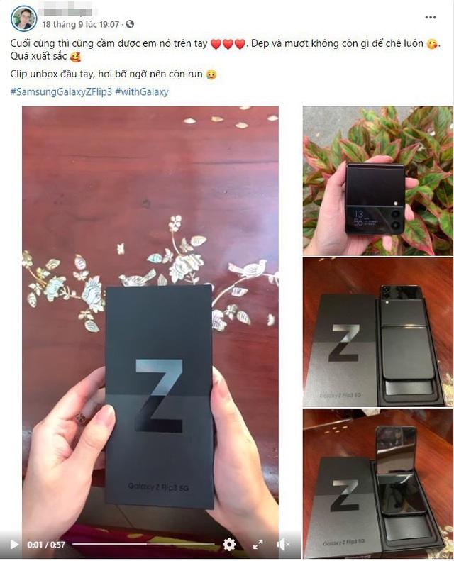 Niềm vui tràn ngập trên mạng xã hội nhờ hiệu ứng Galaxy Z Fold3 và Z Flip3 về tay - Ảnh 5.