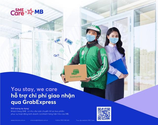 """MBBank san sẻ khó khăn mùa dịch cùng doanh nghiệp với chương trình You stay, we care"""" - Ảnh 2."""