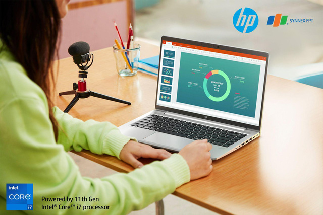 Work From Home hiệu quả hơn bao giờ hết cùng HP ProBook 400 Series G8 - Ảnh 1.
