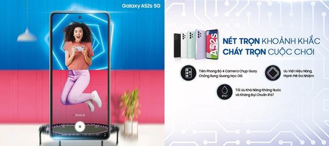 Điều gì khiến Galaxy A52s 5G trở thành siêu phẩm điện thoại tầm trung được giới trẻ săn đón? - Ảnh 1.
