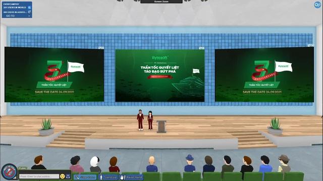 Bytesoft Việt Nam ứng dụng Metaverse vào tổ chức sự kiện - Ảnh 1.