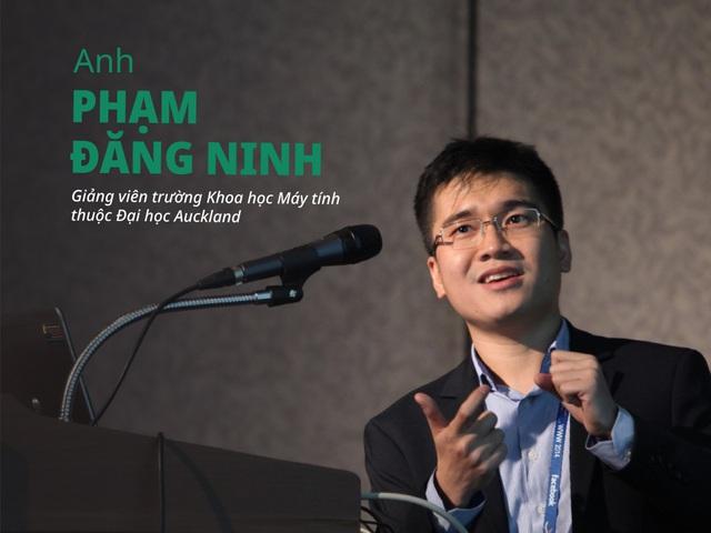 """Cùng 2 giảng viên Việt từ đầu cầu New Zealand tiếp tục """"giải ngố"""" về CNTT cho các IT lover (phần 1) - ảnh 2"""
