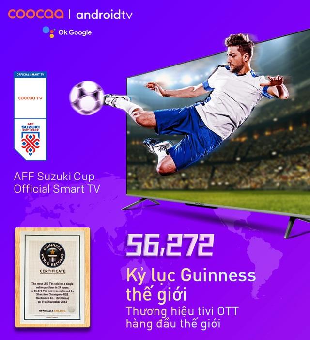 """Tận hưởng AFF cup trọn vẹn với loạt deal công nghệ """"đỉnh"""", có món đang giảm tới nửa giá - Ảnh 1."""