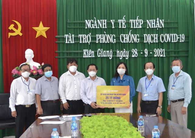 Sun Group hỗ trợ thêm 25 tỷ đồng giúp Kiên Giang chống dịch - Ảnh 1.