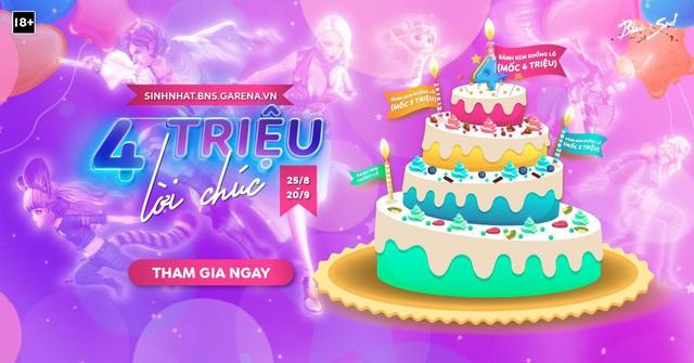 Tham gia ngay loạt sự kiện tưng bừng đón chào sinh nhật 4 tuổi của tựa game Blade & Soul - Ảnh 1.