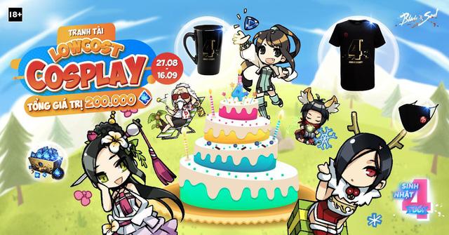 Tham gia ngay loạt sự kiện tưng bừng đón chào sinh nhật 4 tuổi của tựa game Blade & Soul - Ảnh 4.