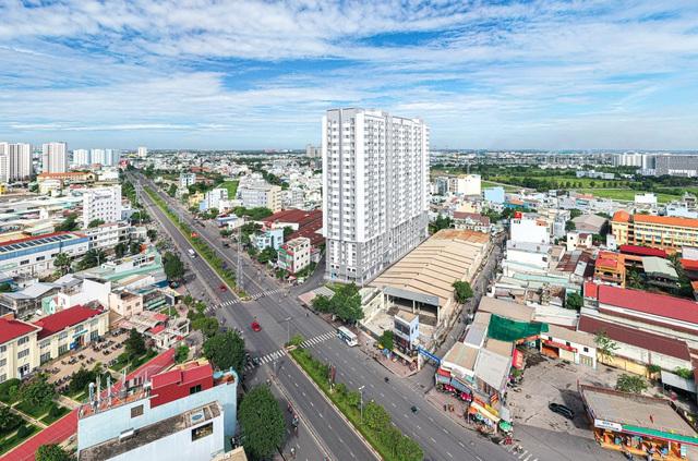 Căn hộ khu Tây Sài Gòn thu hút người miền Tây - Ảnh 1.