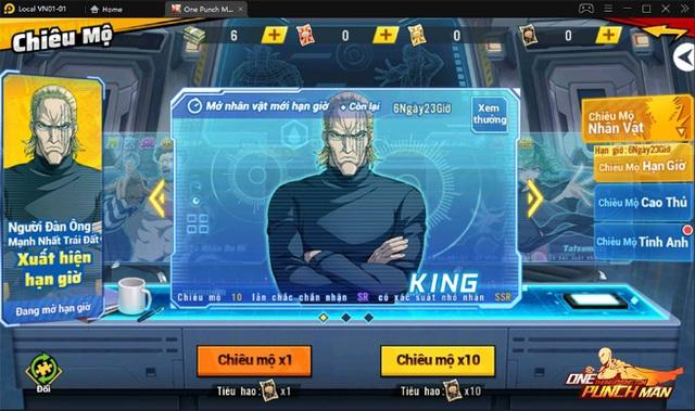 One Punch Man: The Strongest : King -Vương Giả Thiên Hạ Photo-1-16329791524151462722768