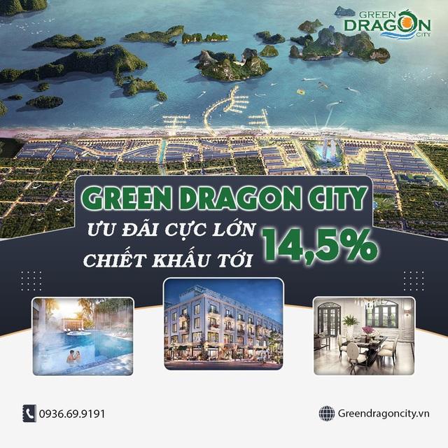 Săn ưu đãi cuối năm lên đến 14,5% tại dự án Green Dragon City - Ảnh 2.