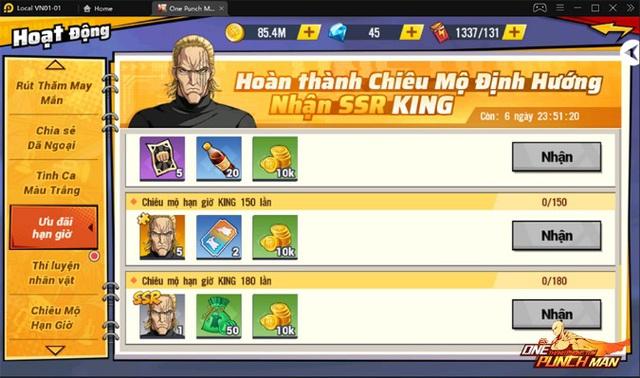 One Punch Man: The Strongest : King -Vương Giả Thiên Hạ Photo-2-1632979152417677609202