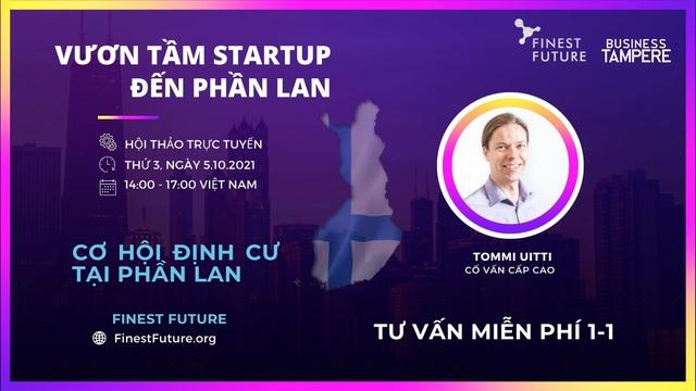Startup Việt được hỗ trợ khởi nghiệp tại thành phố Tampere, Phần Lan - Ảnh 3.