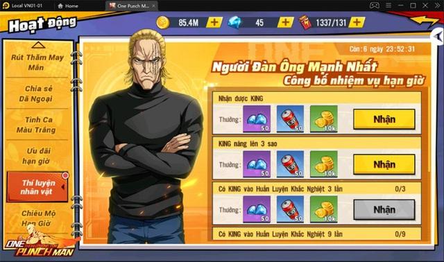 One Punch Man: The Strongest : King -Vương Giả Thiên Hạ Photo-3-1632979152419994646017