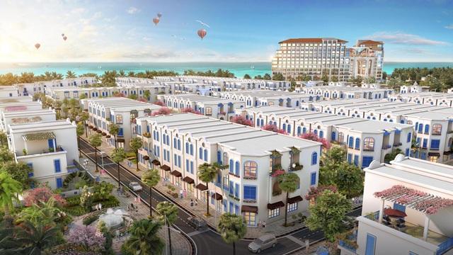 """The Blue Village – """"Tiểu Santorini"""" độc đáo giữa lòng FLC Quảng Bình - Ảnh 1."""