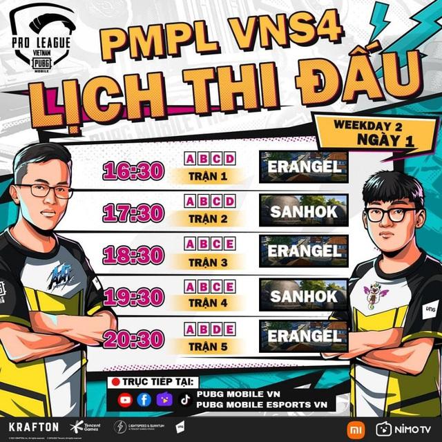 PMPL Việt Nam mùa 4 trở lại sôi động ngay từ những tuần thi đấu đầu tiên - Ảnh 2.