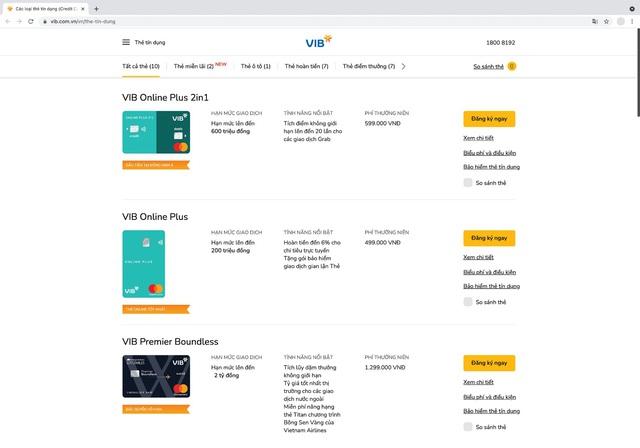 VIB lập cú đúp giải thưởng quốc tế về thẻ tín dụng - Ảnh 1.