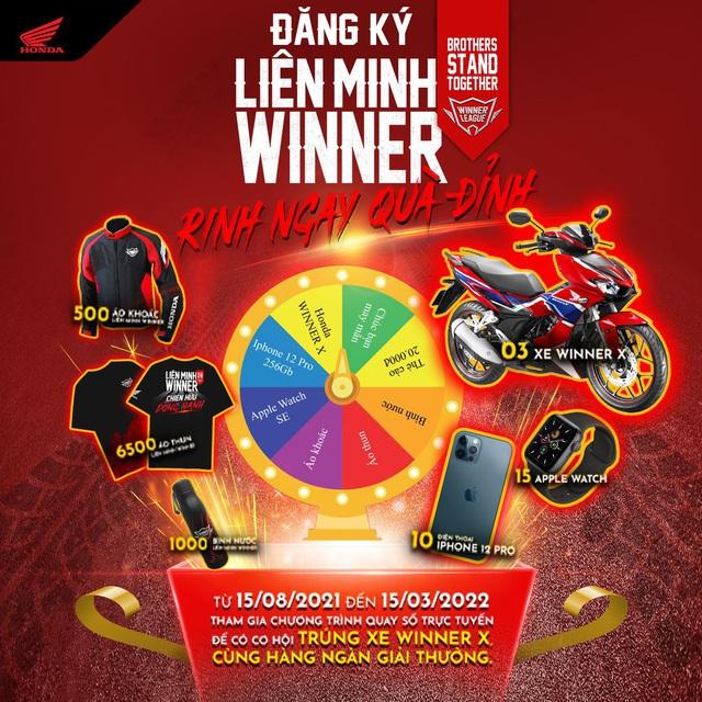 Liên minh Winner: 'Đây là sân chơi cho những biker chính hiệu' - Ảnh 4.