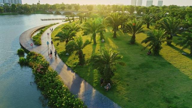 Báo Mỹ ấn tượng với lượng cây xanh khổng lồ của Ecopark - Ảnh 3.
