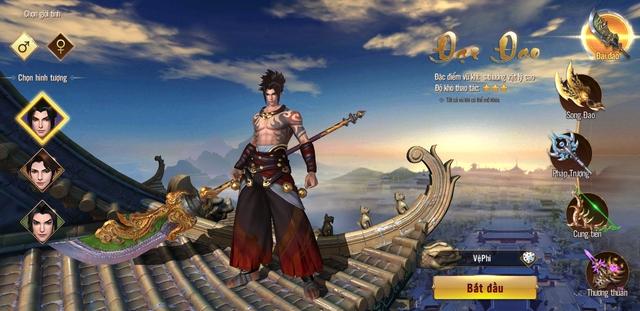 Chơi Đao Kiếm Vô Song, người chơi phải cân nhắc trong 20 lựa chọn bộ phái vũ khí - Ảnh 1.