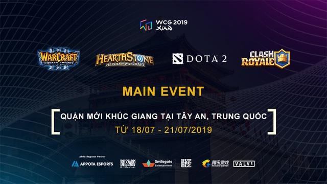 """Appota Esports """"hồi sinh"""" WCG 2019 tại Việt Nam - Ảnh 1."""