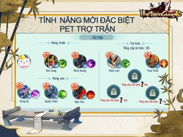 Càn Khôn Thú Trận - Uy Chấn Giang Hồ: Big Update 6.0 của Nhất Kiếm Giang Hồ chính thức ra mắt - Ảnh 2.