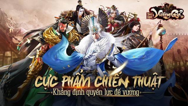 Tam Quốc Vương Giả xứng đáng với ngôi vị Cực phẩm chiến thuật Tam Quốc 10 năm có 1 trong làng game Việt. - Ảnh 4.