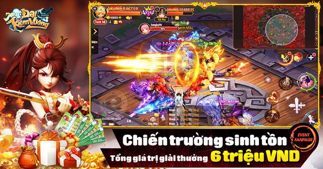 Đại Kiếm Vương Mobile chuẩn bị Alpha Test, nhá hàng giải đấu sinh tồn độc đáo - Ảnh 1.