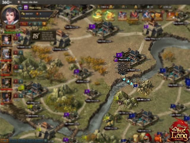 Quốc chiến trên bản đồ Bạch Mã