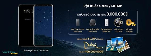 Những ưu đãi khủng tại Viettel Store mà bạn nên biết để đặt mua Samsung Galaxy S8/S8+ - Ảnh 3.