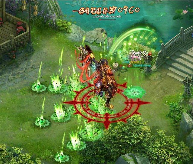 Webgame Võ Lâm Truyền Kỳ VNG hội tụ đủ những tính năng hồi ức