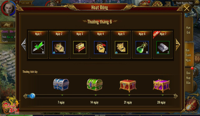 Trong game có vô số quà tặng