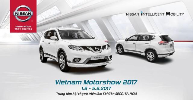 Diện mạo hoàn toàn mới của Nissan tại Vietnam Motor Show 2017 - Ảnh 1.