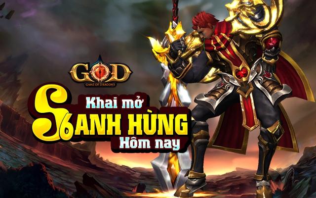 Game of Dragons sẽ khai mở S6 Anh Hùng vào 10h00 ngày 29/7