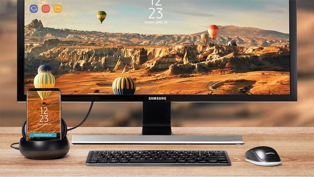 Samsung Dex – sáng kiến giúp bạn linh hoạt hơn trong giải quyết công việc hằng ngày. (Ảnh: Samsung Global)