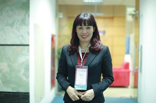 Bà Nancy Ngô Thị Bích Quyên - Chủ tịch ActionCoach Hà Nội West.
