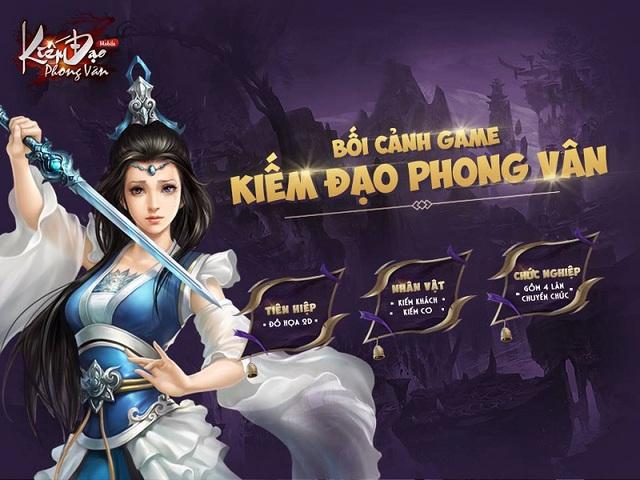 """13/9, Kiếm Đạo Phong Vân """"công kích"""" làng game với phiên bản Closed Beta"""