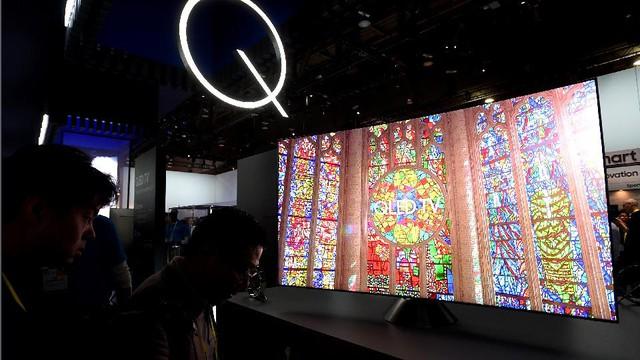 Dây chuyền công nghệ 10.5G giúp khâu sản xuất QLED TV trở nên dễ dàng hơn.