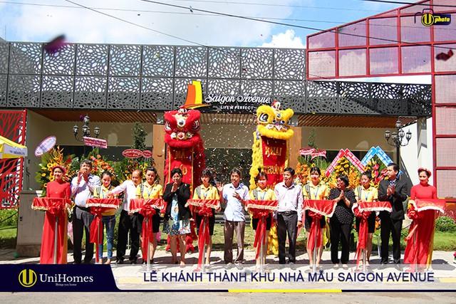 Tưng bừng lễ khánh thành khu nhà mẫu Saigon Avenue - Ảnh 1.