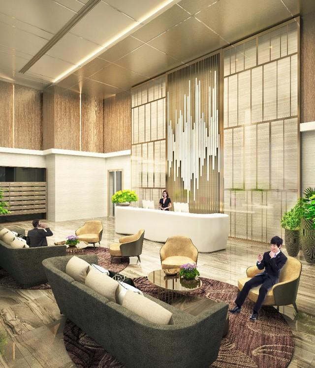 Dự án được giao nhà đã đi vào làm việc căn bản và đa số chất liệu nhập từ Châu Âu.