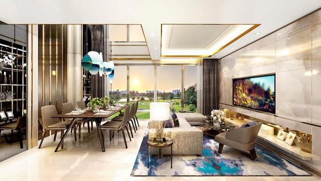 """Tất cả villa Happy Valley Premier đều là căn góc và có ít nhất 2 """"view"""" bởi mỗi sàn chỉ bố trí 4 căn."""