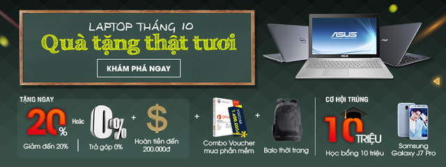 Dễ dàng sở hữu laptop tại FPT Shop với chỉ từ 859.000 đồng