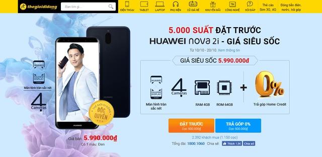 Với nova 2i, Huawei trở lại và lợi hại hơn xưa - Ảnh 3.