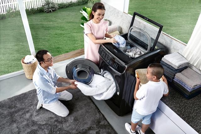Máy giặt lồng đôi FlexWash mới của Samsung