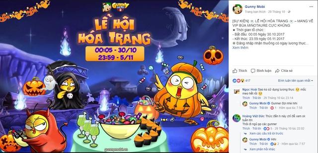 Sự kiện Halloween sẽ kéo dài đến 5/11.