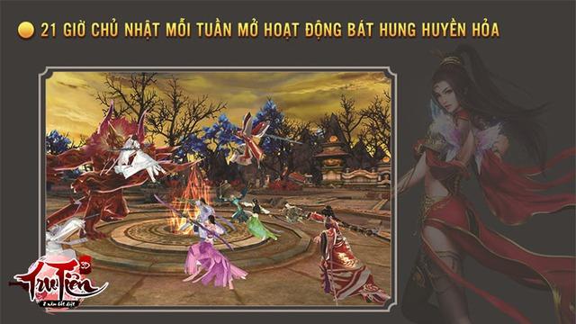 Tru Tiên 3D tung Big Update cho phép game thủ PK, săn Boss cả ngày không biết chán