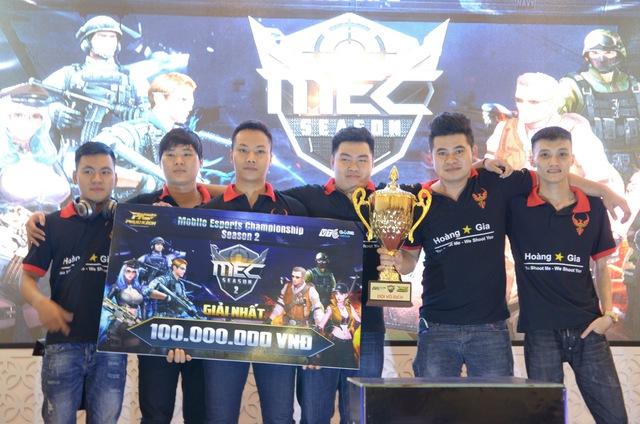 Nhà vô địch mùa giải MEC mùa 2 2017 Hoàng Gia