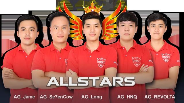 Xếp ở vị trí thứ 3 là Allstars. Giải thưởng dành cho họ là 50 triệu đồng tiền mặt
